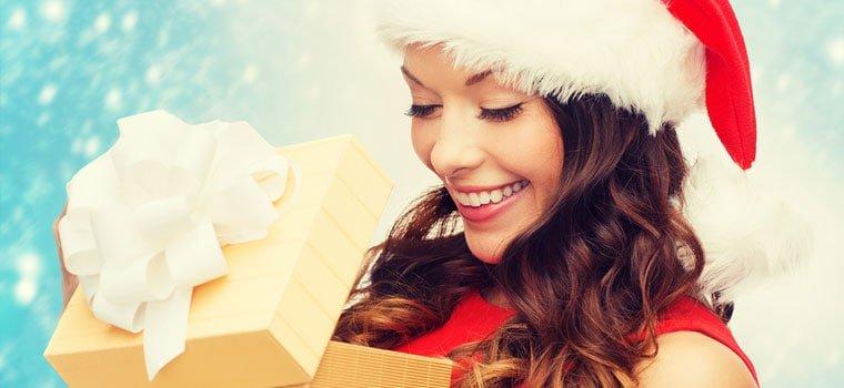 Naiselle Joululahja