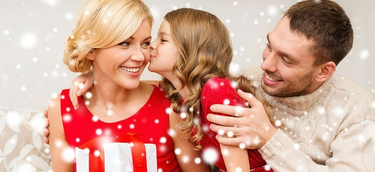 Joululahja äidille