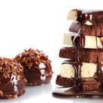 Käsintehty suklaa lahjaksi