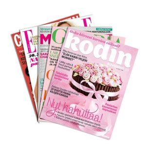 Kodin aikakausilehdet