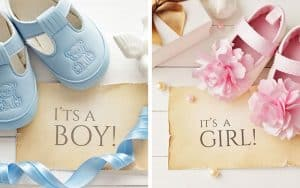 Baby shower lahja