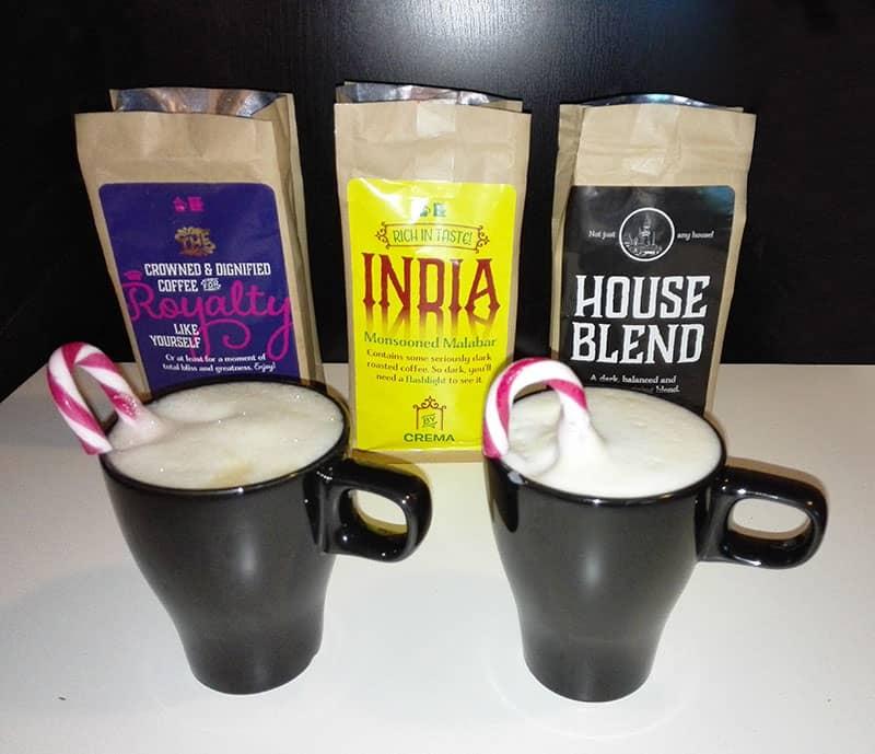 Kahvin nettikauppa -maistelu