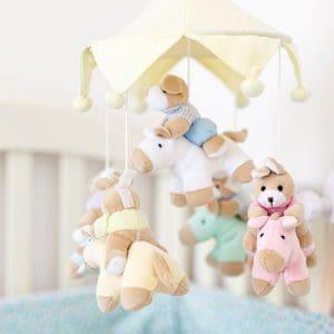 Vauvan mobile sänkyyn tai rattaisiin