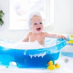 Vauvojen ja lasten kylpytuotteet